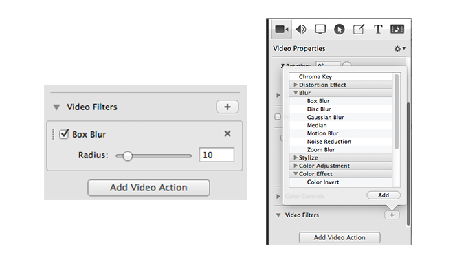 Adding Transitions to Video Filters